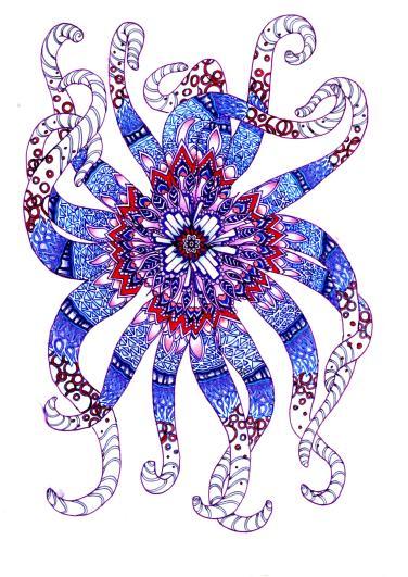 The Sixteen Legged Octopus from the Deep