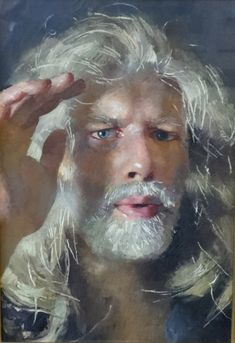 Robert Lenkiewicz - Self Portrait