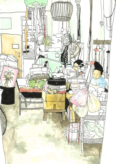 Study of a workshop in Koh Lanta - Thailand